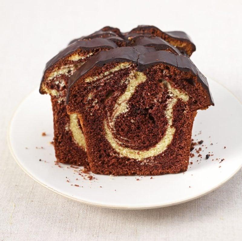 Kuchen Rezepte glutenfrei Marmorkuchen