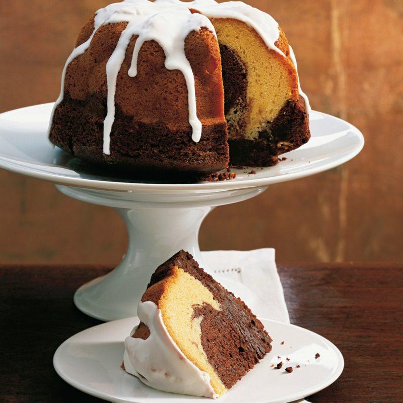 Rezeptbuch selber machen glutenfreie Rezepte Marmorkuchen