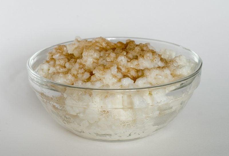 gesunde Reisgerichte Milchreis mit Zimt