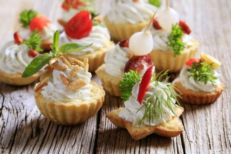Snacks für Kindergeburtstag Fingerfood zubereiten
