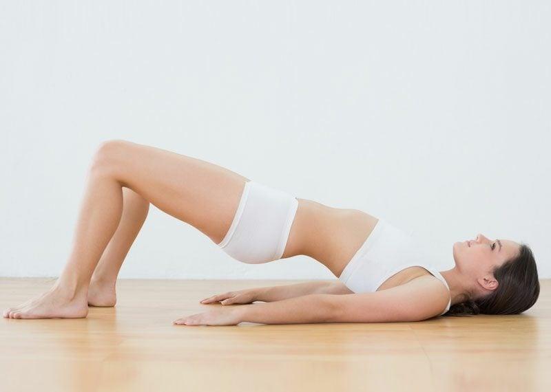 Bein- und Rückenübungen Zuhause Pilates
