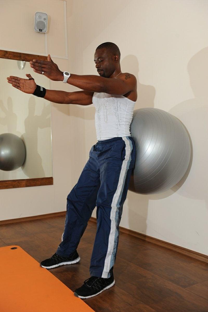 Bein- und Rückenübungen zu Hause Pilates