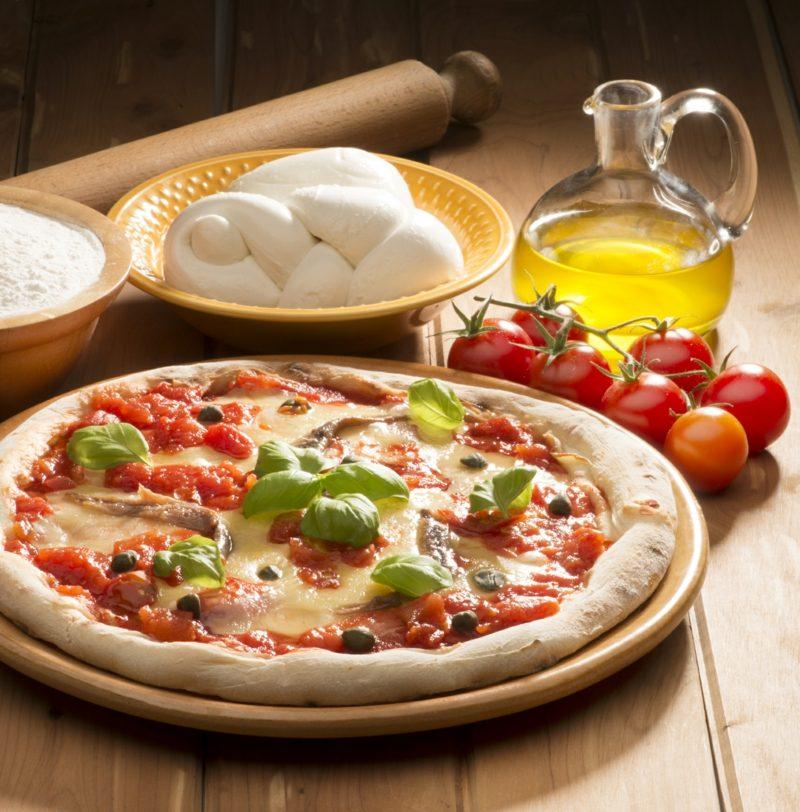 pizza margherita chefkoch Traditionelle neapolitanische Pizza Margherita