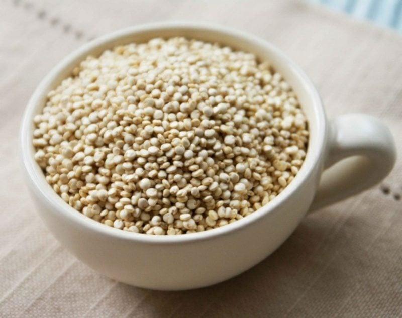 Bauch Abnehmen schnell mit Quinoa