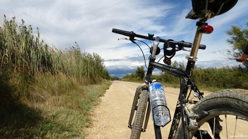 Fahrrad fahren in der Natur Kalorienverbrauch