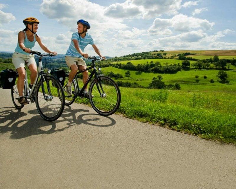 Kalorienverbrauch beim Radfahren Fett verbrennen