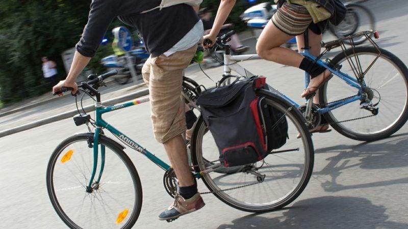mit der Fahrrad zur Arbeit gehen Kalorien verbrennen