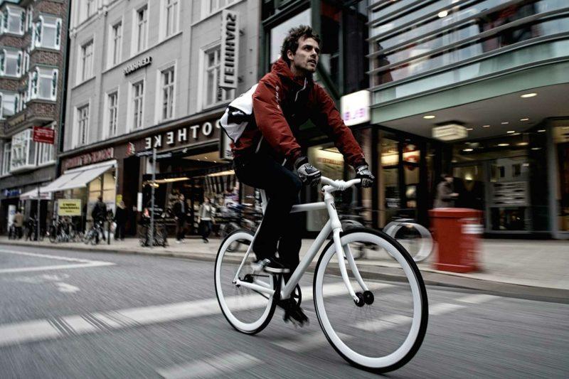 Fahrrad fahren in der Stadt Kalorienverbrauch