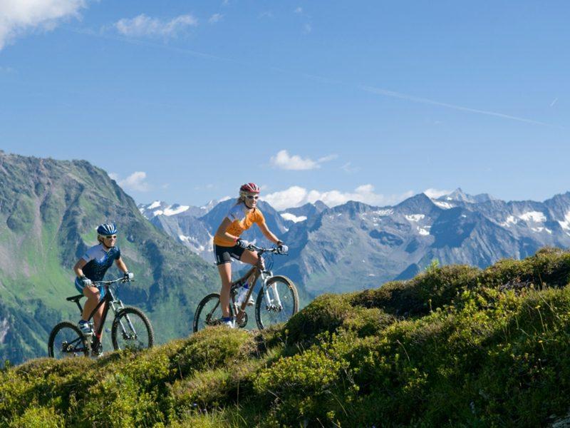 Kalorienverbrauch Fahrradfahren in den Bergen
