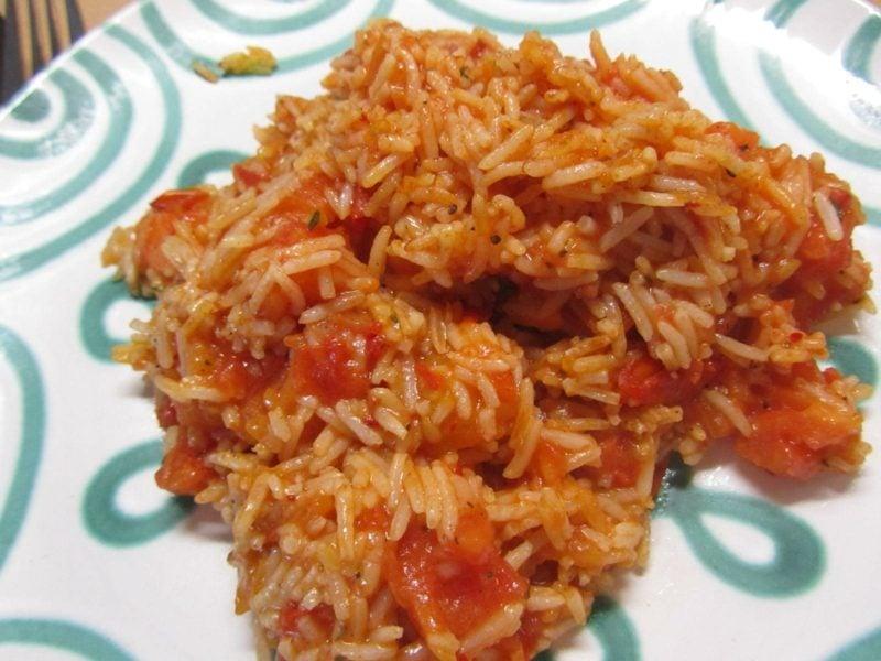 schnelle Reisgerichte Reis auf mexikanischer Art