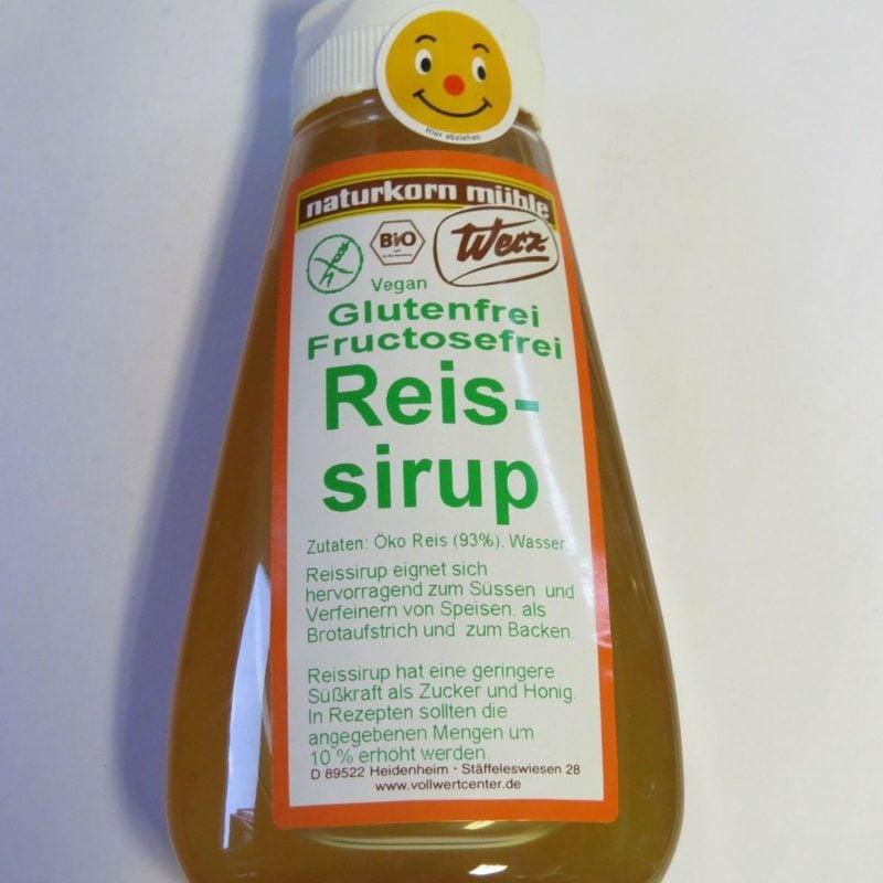 Ersatz für Zucker Reissirup gesund