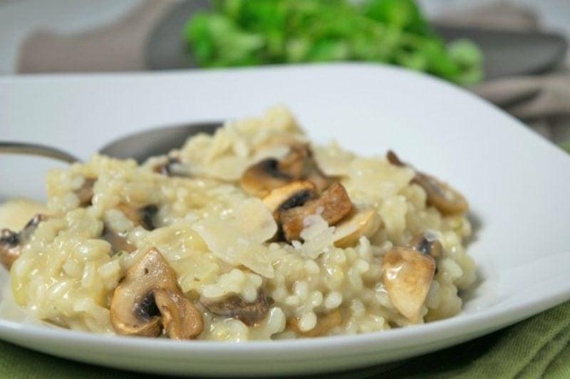 Rezepte mit Reis Risotto mit Pilzen selber zubereiten