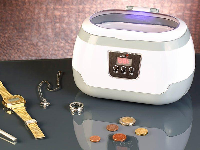 Ultraschallreiniger Flüssigkeit selber machen Silbermünzen reinigen