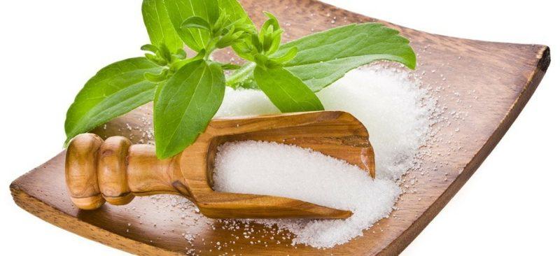 Süssstoff abnehmen Stevia Pulver gesund