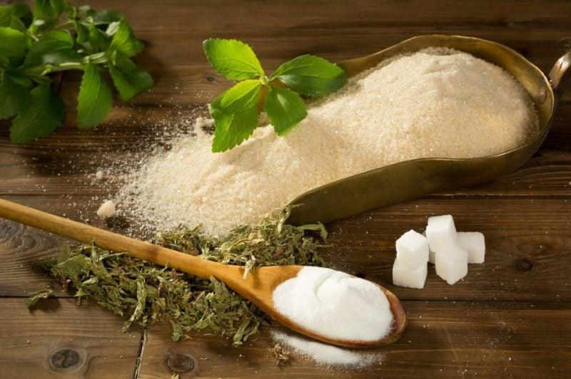 Zucker Alternative Stevia gesund