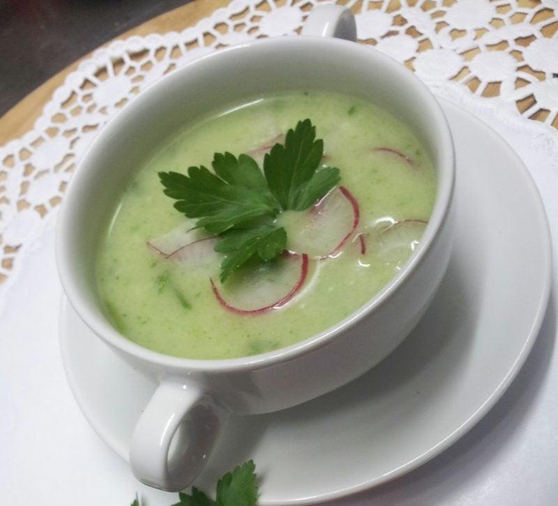Radieschen gesund Rezepte Suppe