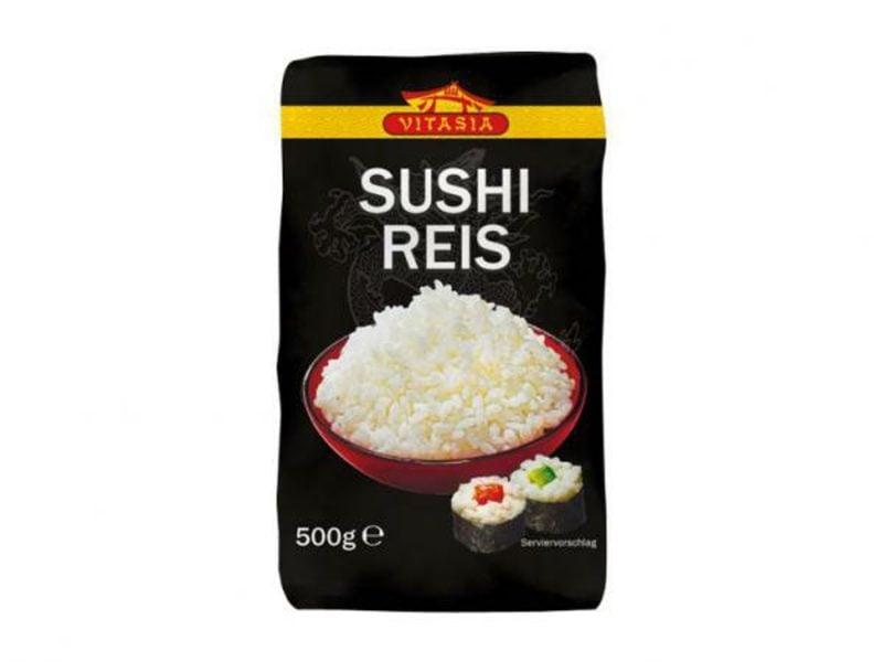 Reisgerichte japanisch Sushi-Reis kochen Verpackung