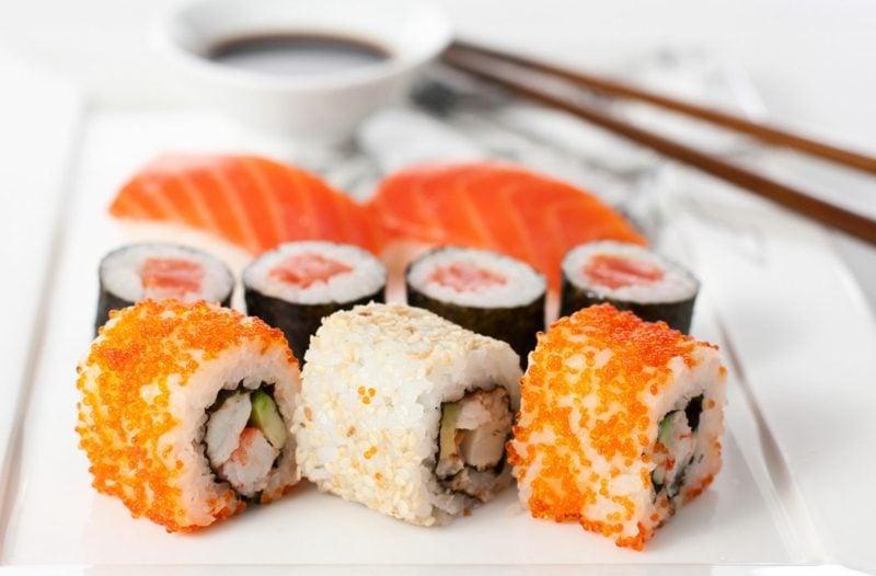schnelle Reisgerichte Sushi Rezept
