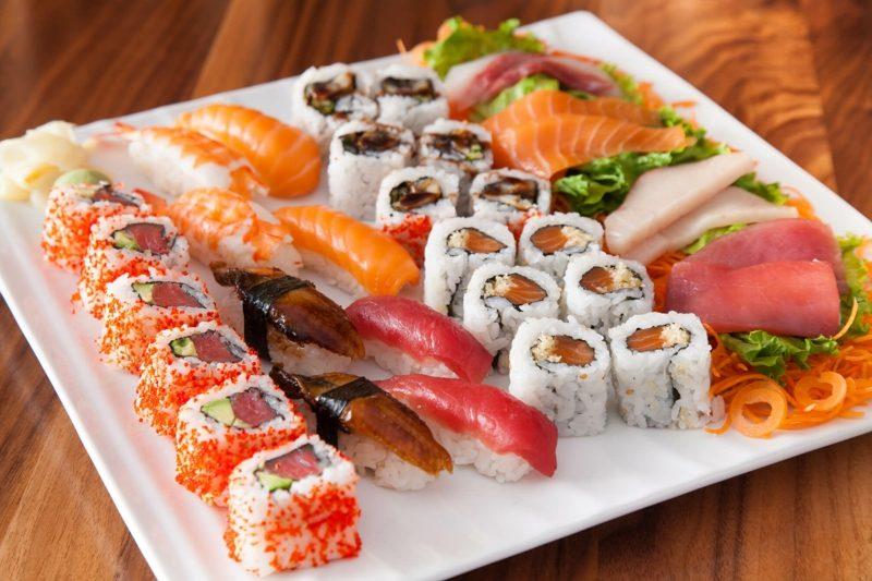 Rezepte mit Reis japanisch Sushi