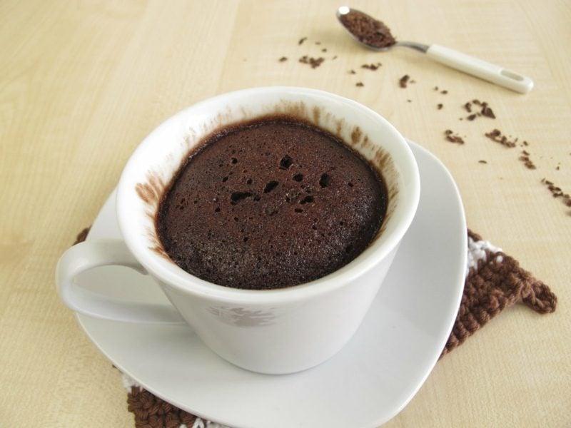glutenfreie Süßigkeiten Tassenkuchen backen