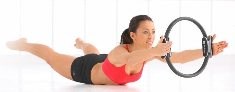 Pilates Rücken und Beine trainieren