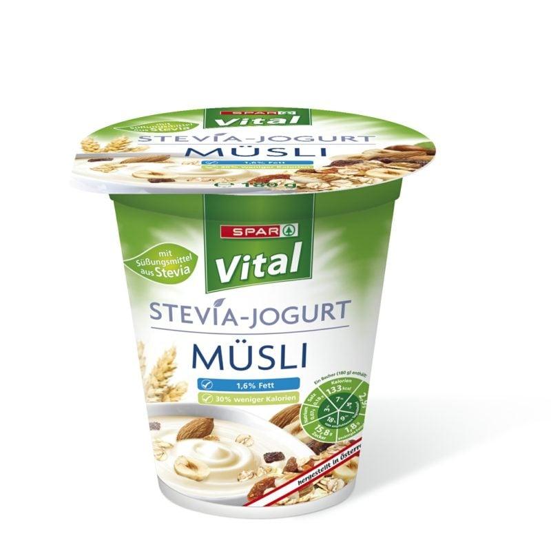 Stevia Produkte Yoghurt Ersatz für Zucker