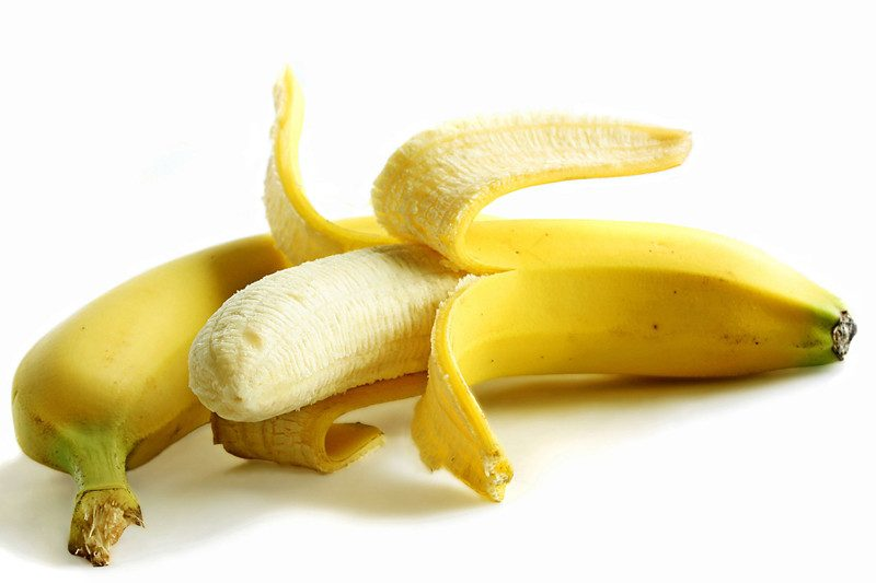 Abnehmen am Bauch gesundes Essen Bananen