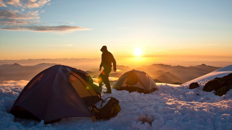 Campingzubehör für Camping im Winter
