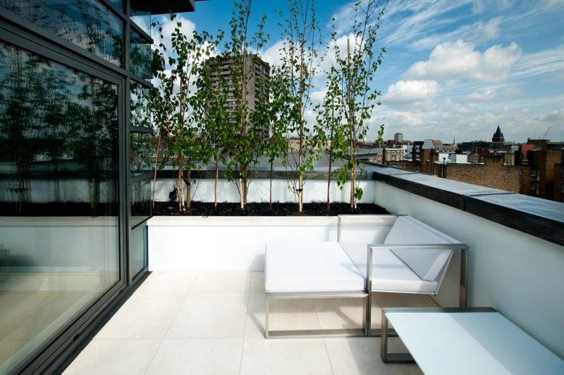 Dachterrasse gestalten tipps und 42 tolle ideen haus garten terrassen zenideen - Designer arbeitstisch tolle idee platz sparen ...
