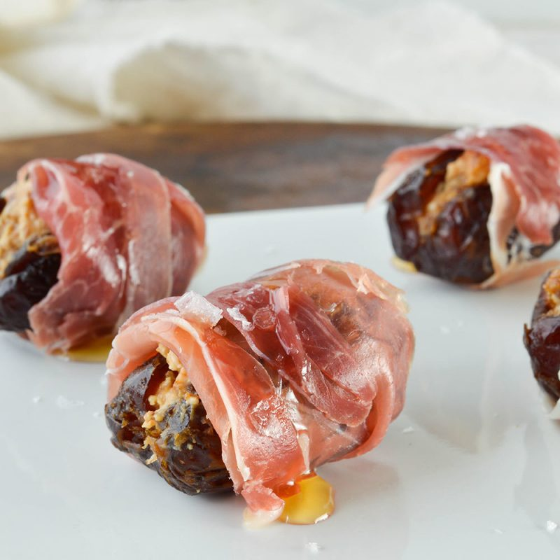 Datteln mit Bacon - Rezept