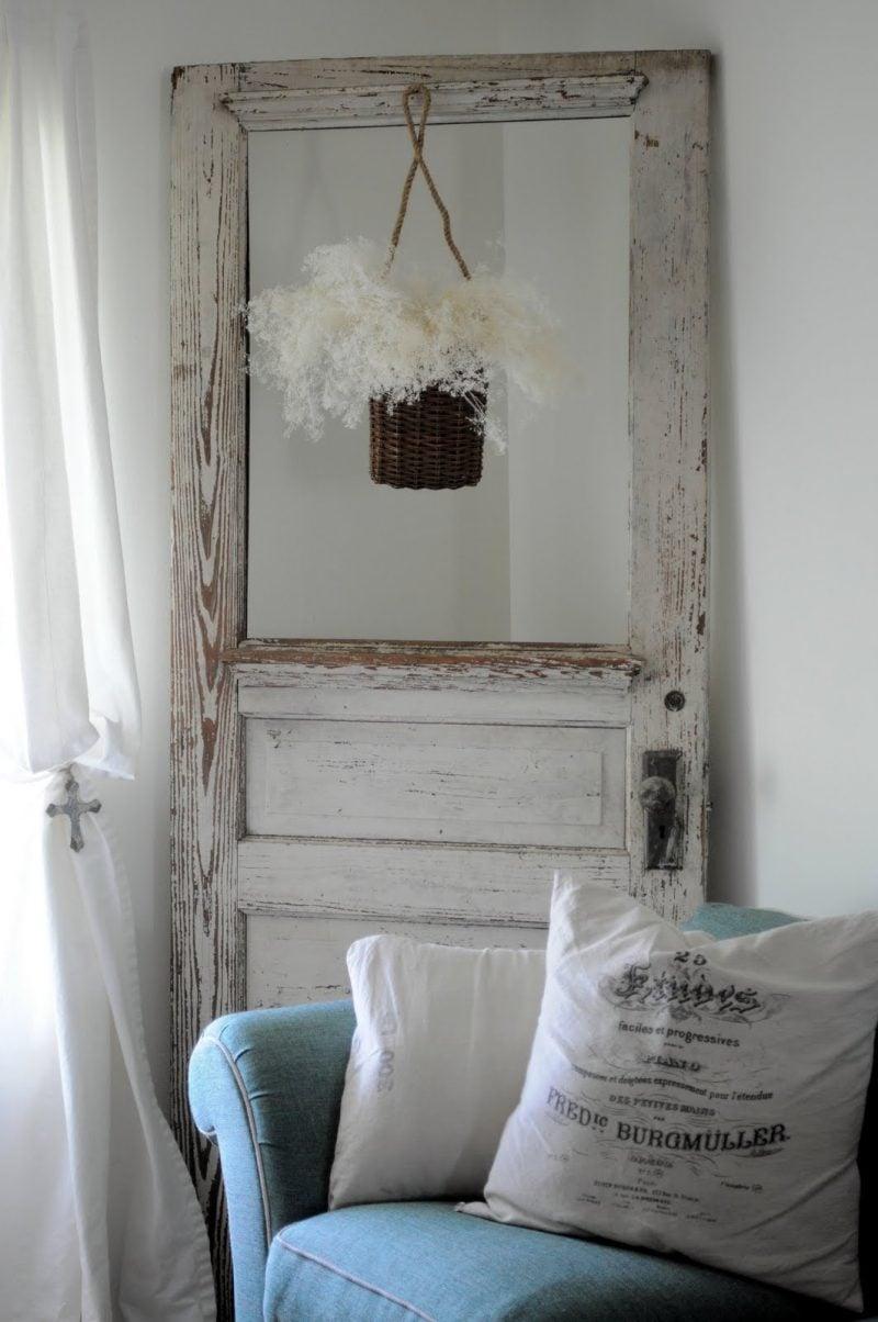 Do it yourself Dekoration mit einer alten Tür