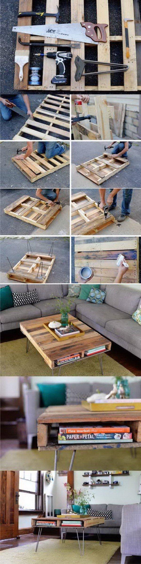 Do it Yourself Ideen: DIY Möbel aus Paletten