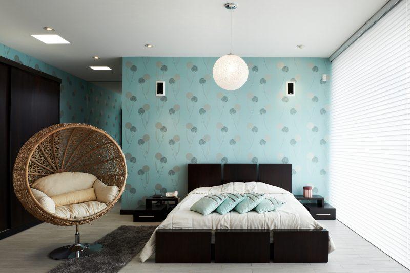 wandgestaltung schlafzimmer ideen grün wohnideen kleine räume