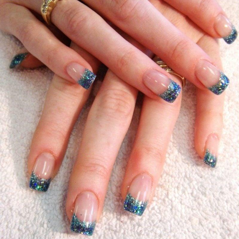 French Nails mit Gellack selber machen Anleitung