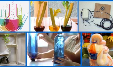 Experimente für Kinder DIY Ideen