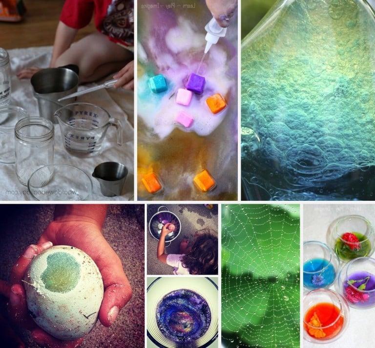 Experimente für Kinder Experimente für Zuhause
