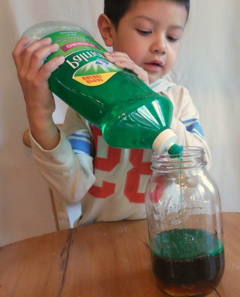 Experimente für kleine Kinder