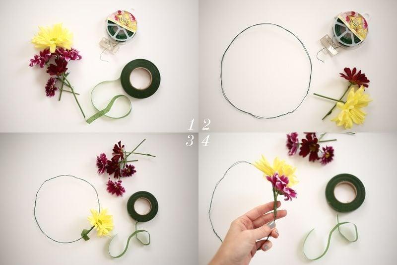 Gelbe Gerbera Blume