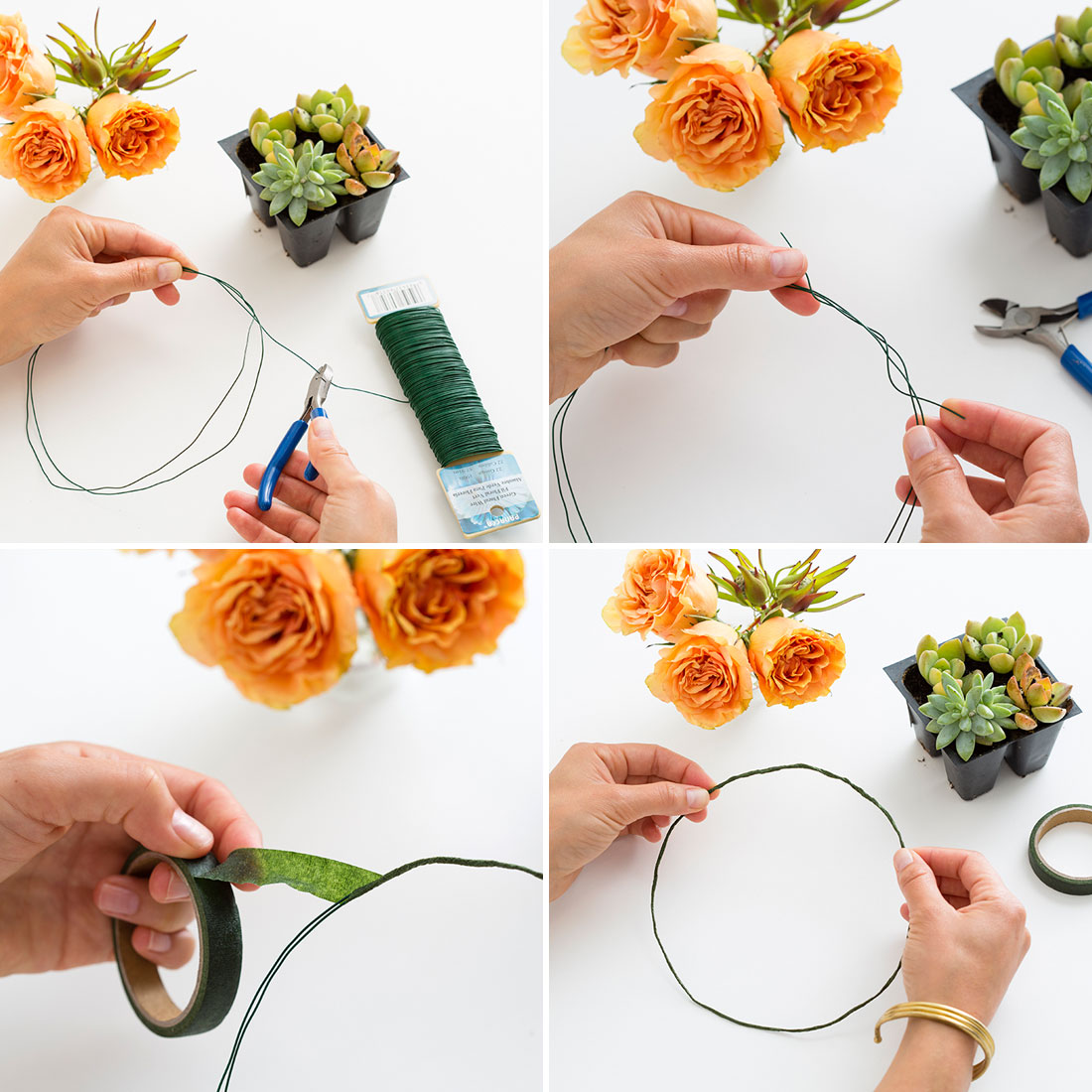 blumenkranz f r die haare selber machen 26 anleitungen mit gerbera rose und gartenblumen. Black Bedroom Furniture Sets. Home Design Ideas
