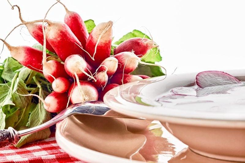 Radieschen gesund 3 leckere rezepte frische Salaten