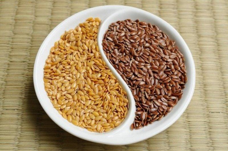 Leinsamen Nährwerte vs. Chia Samen