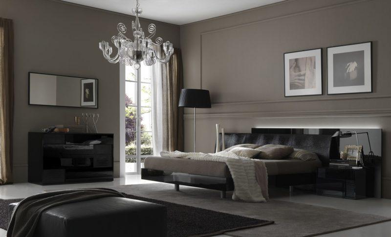 wandgestaltung schlafzimmer ideen grautöne wohnideen