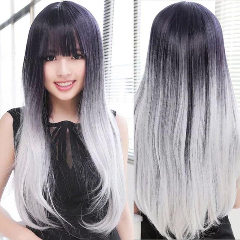Graue Haare färben - so schaffen Sie richtig Ombré