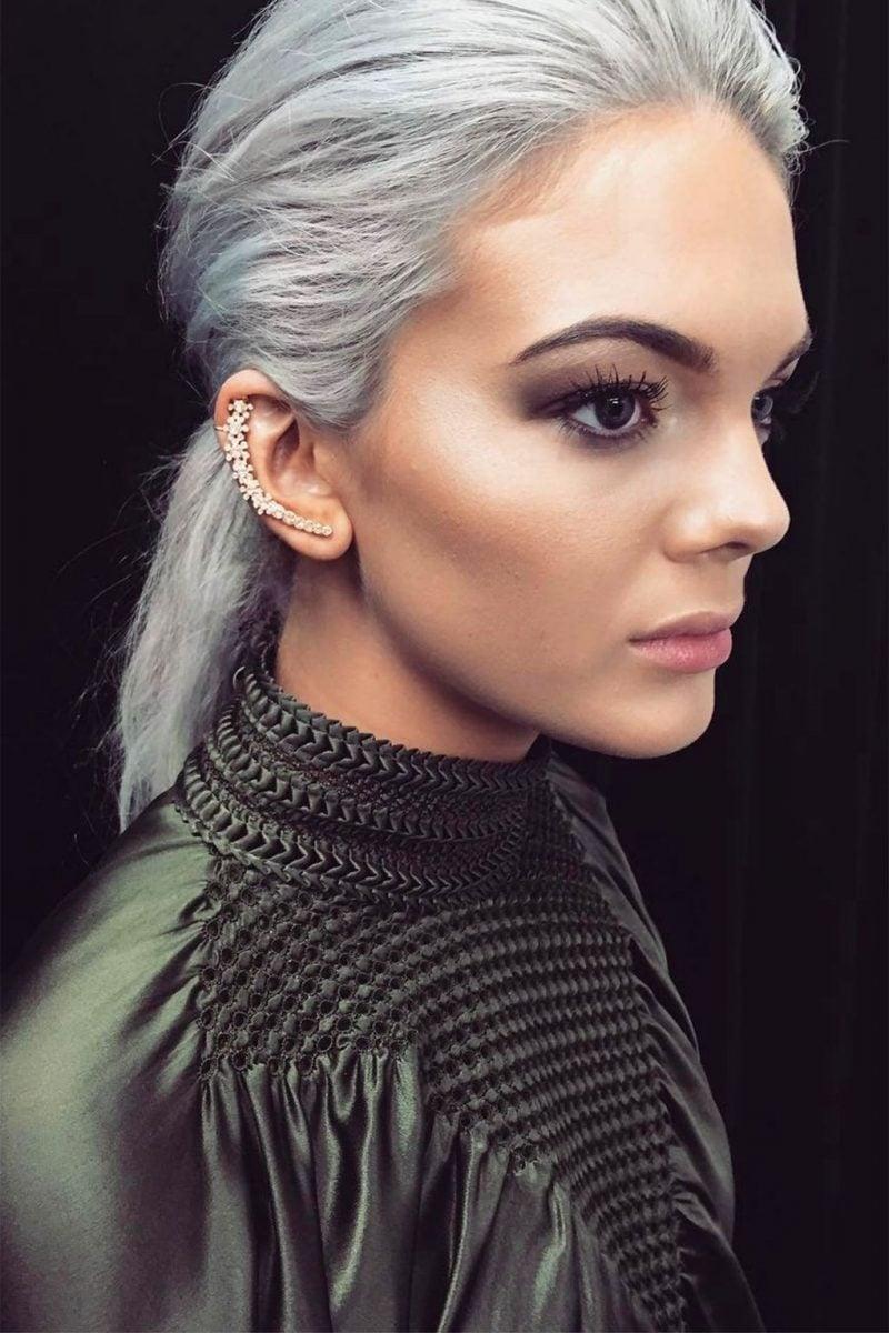 Graue Haare färben - so schaffen Sie richtig Grautöne