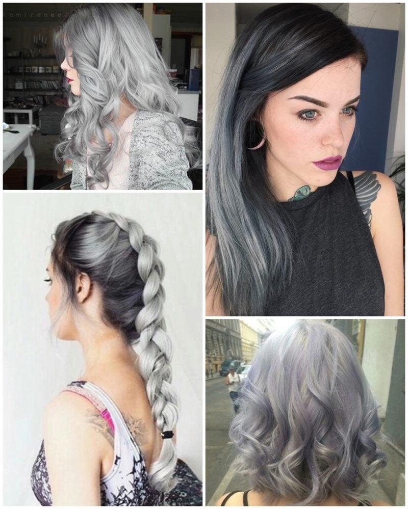 Graue Haare So Schaffen Sie Grautöne In Den Haaren Beauty