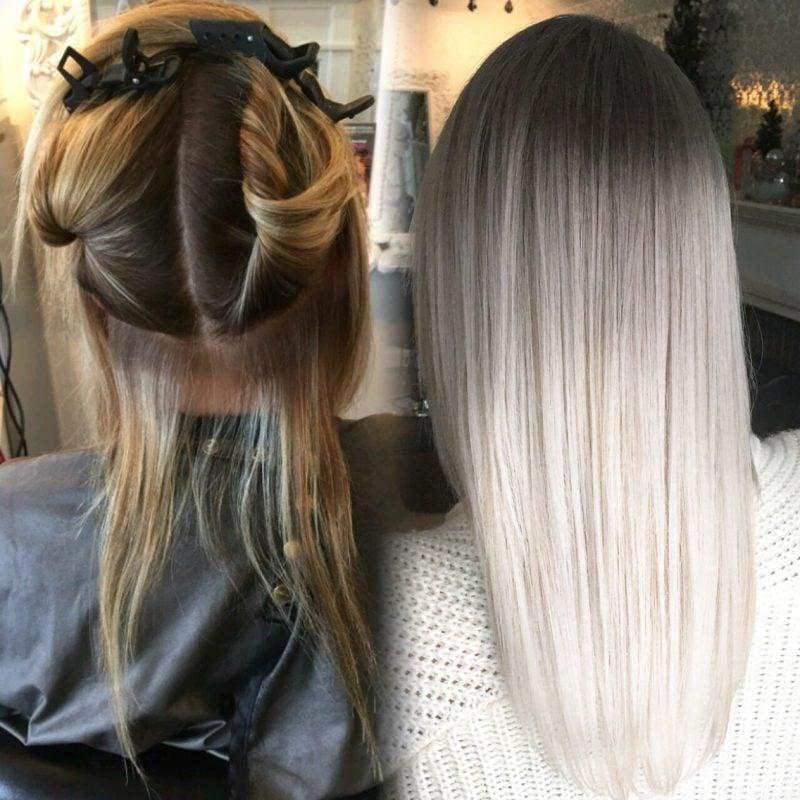 Graue Haare färben: So funktioniert!