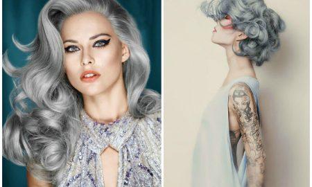 Grautöne in den Haaren: Wie Haare grau färben