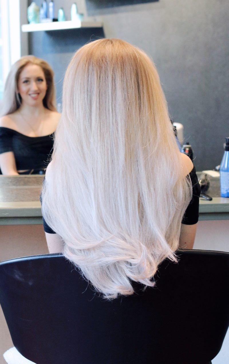 haarfarbe blond grau modische haarschnitte und haarf rbungen. Black Bedroom Furniture Sets. Home Design Ideas