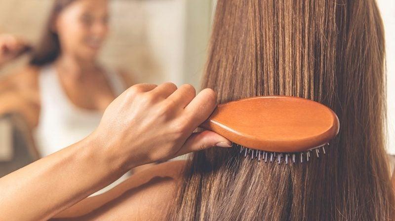 schöne lange haare gepflegt