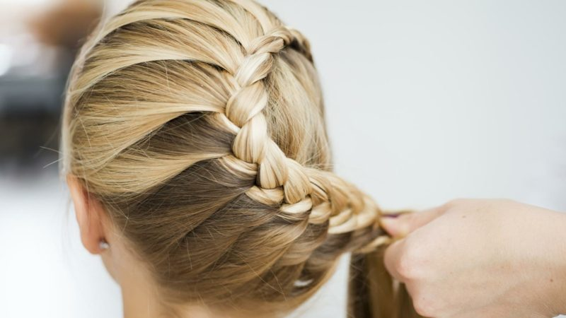 lange haare stufen frisuren